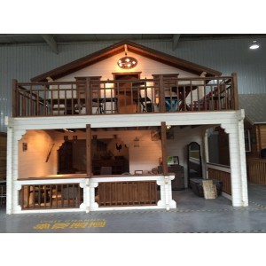 Two level wooden kitset home - ideal retreat or rental