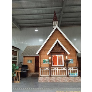 Wooden kitset cottage