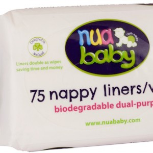 5-pack Dual-purpose liners/wipes